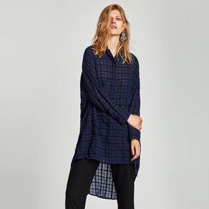 Zara bejeweled shirt dress - XL